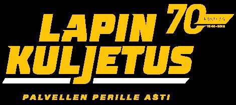 Lapin Kuljetus 70-vuotis logo