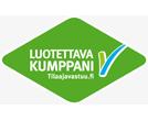 Luotettava kumppani-logo
